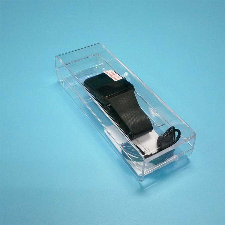 Customized Packaging Smart Watch Clear Display Plastic Box