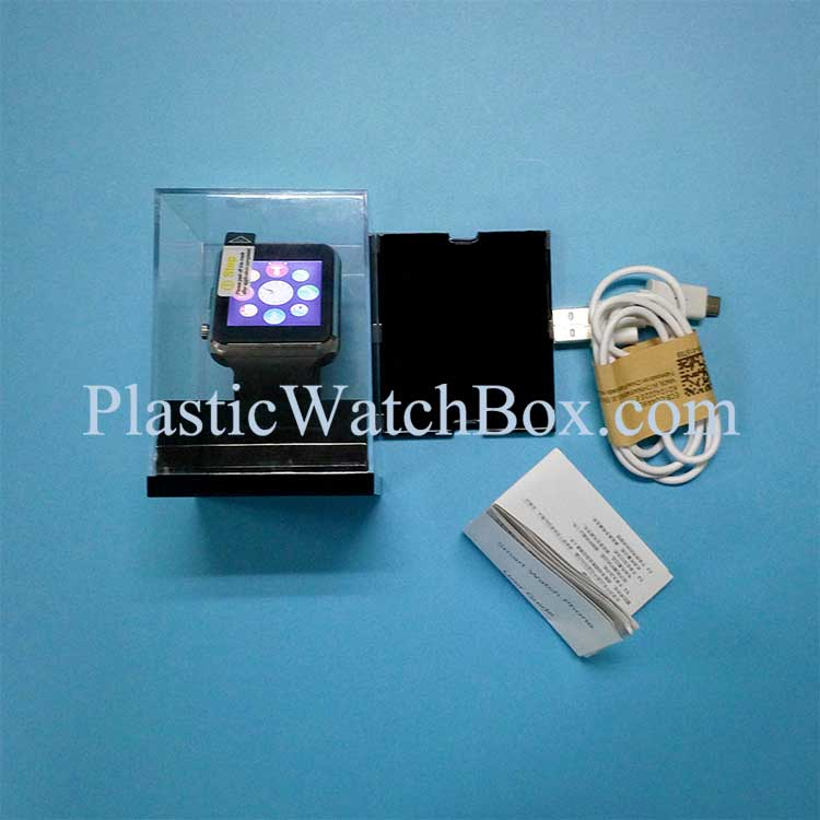 Android Smart Watch U8 A1 Display Packaging Box Accept Customized Paper Artwrok Printing SWB-6042